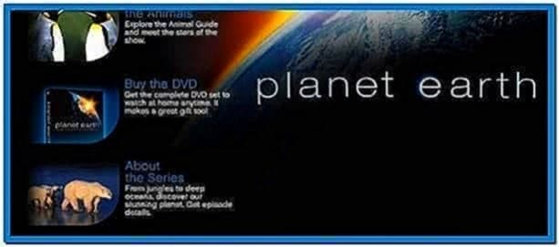 Discovery Channel Planet Earth Screensaver