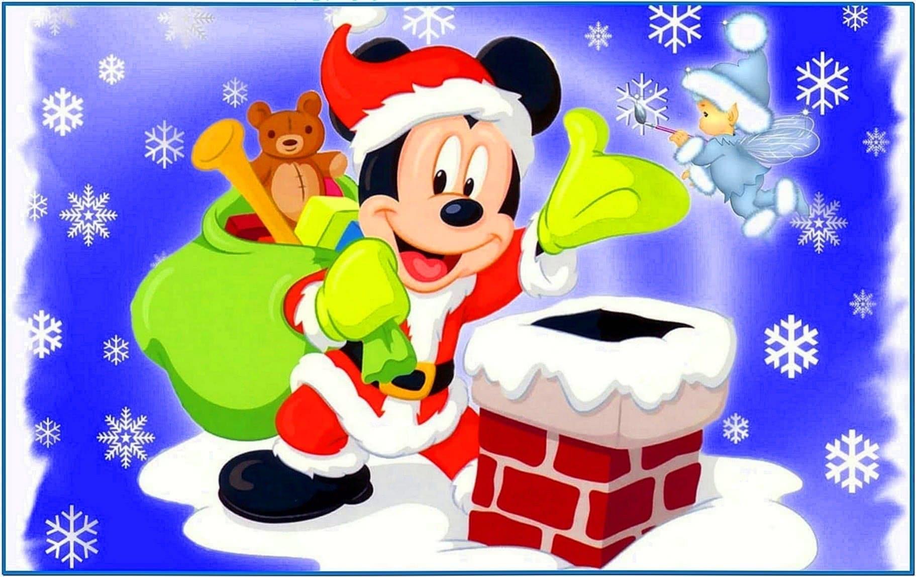 Disney Christmas Screensaver