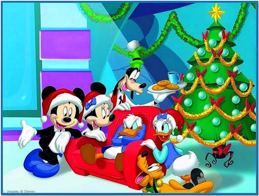Disney christmas wallpaper and screensavers - Download free