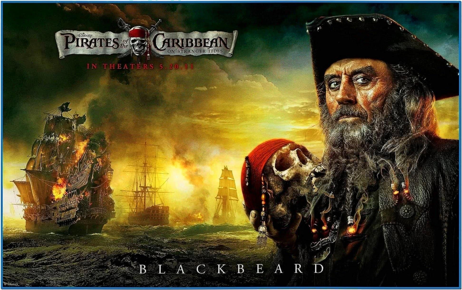 Disney Pirates of The Caribbean Screensaver