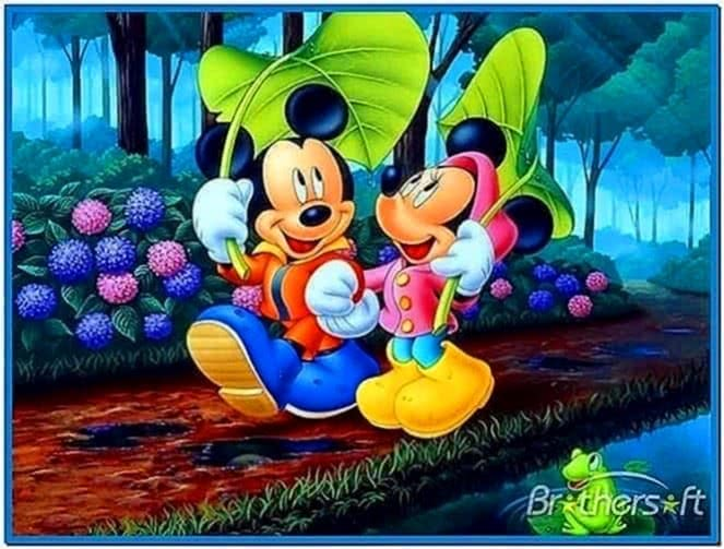 Disney Screensaver Animated Wallpaper