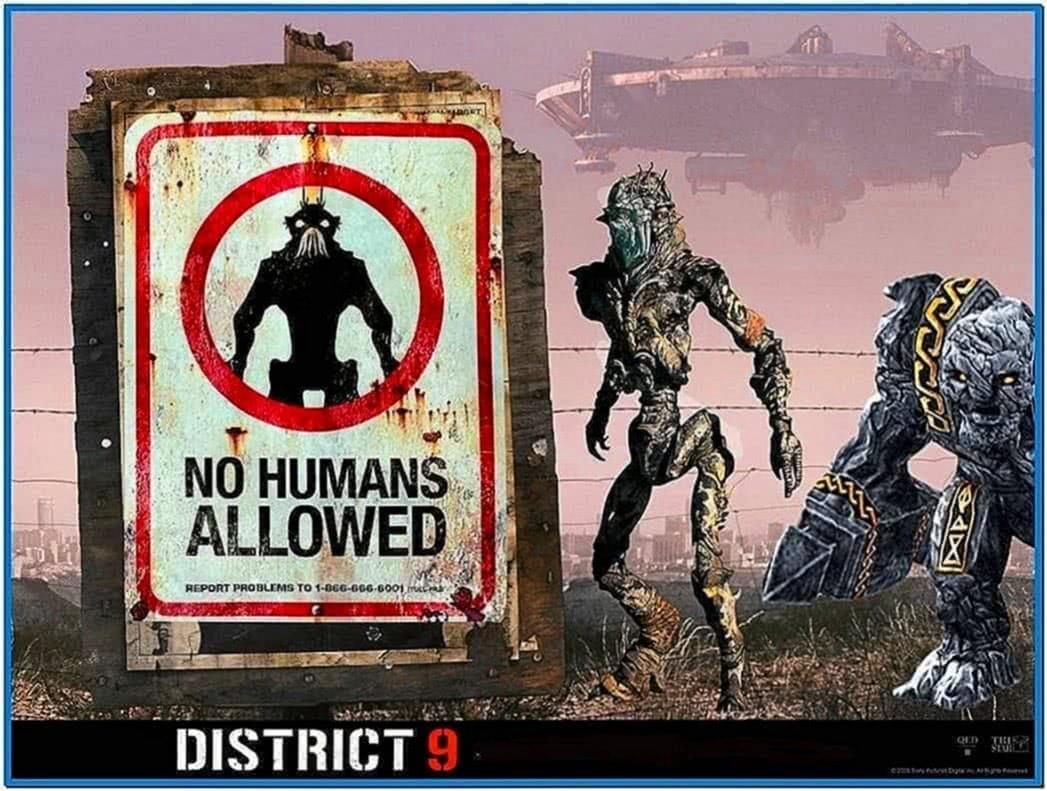 District 9 screensaver
