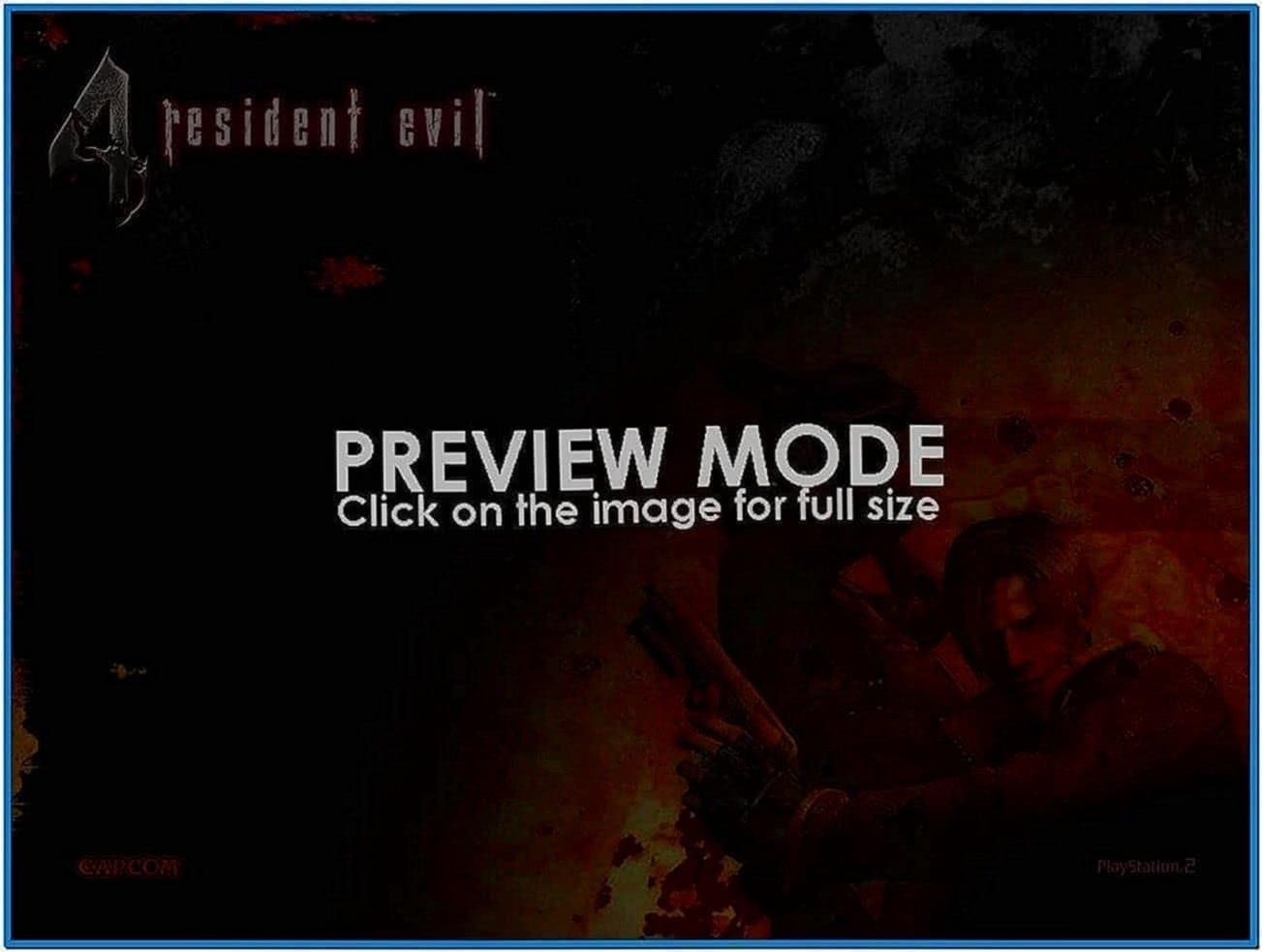 Do Resident Evil 4 Screensaver