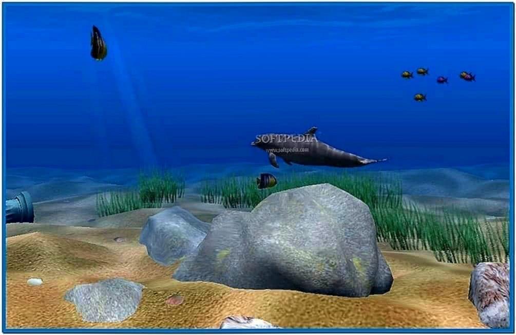 Dolphin Aqua Life 3D Screensaver