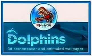 Dolphins 3D Screensaver and Animated Wallpaper