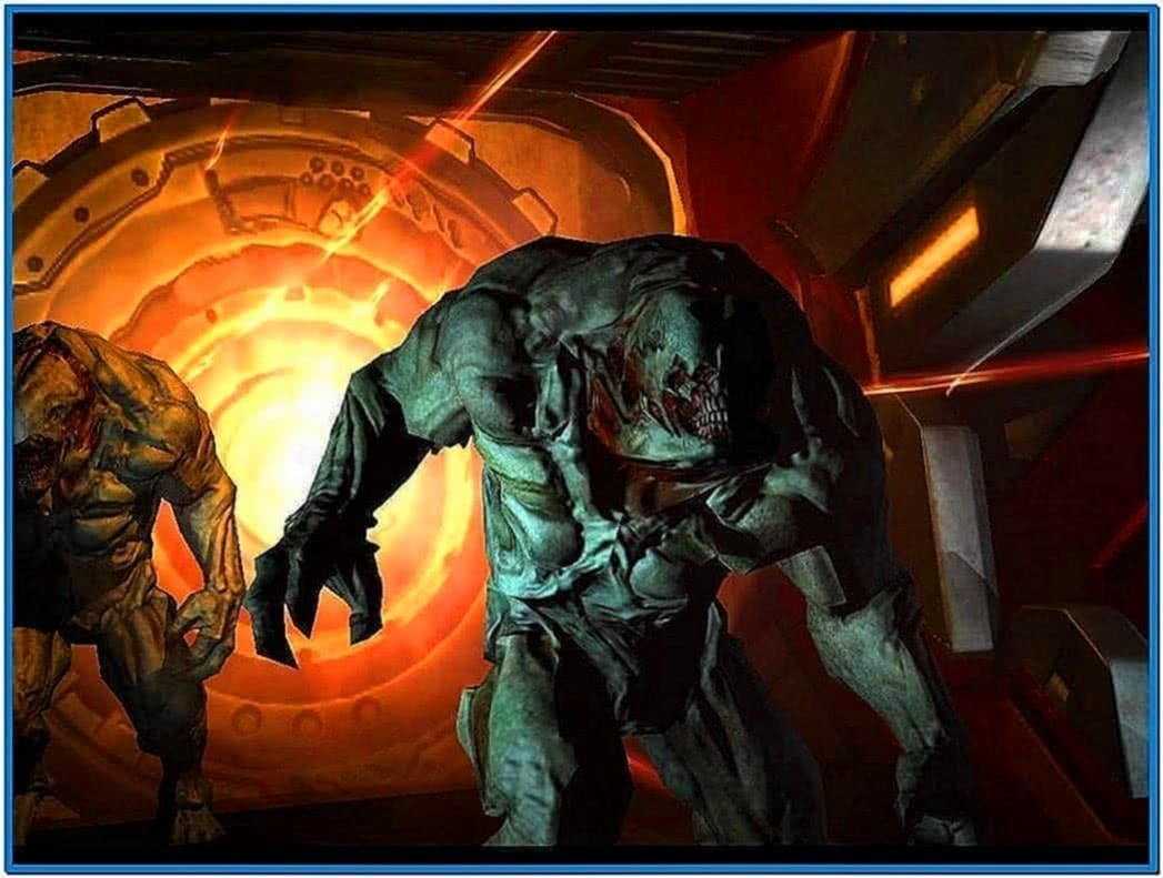 Doom 3 screensaver Mac os x
