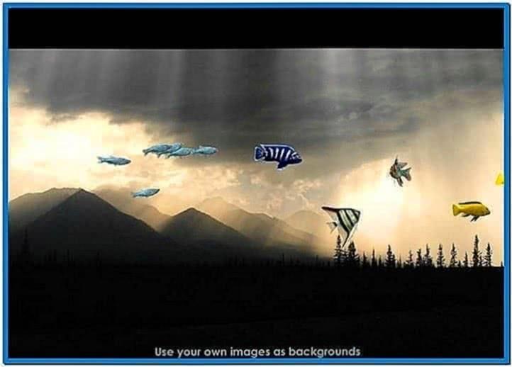 Dream Aquarium Screensaver Windows XP