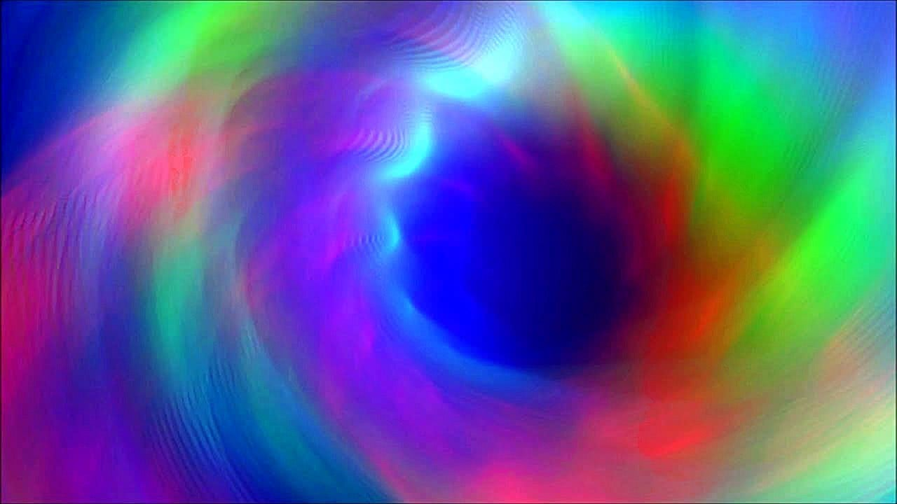 Endless RAINBOW VORTEX Relaxing SCREENSAVER