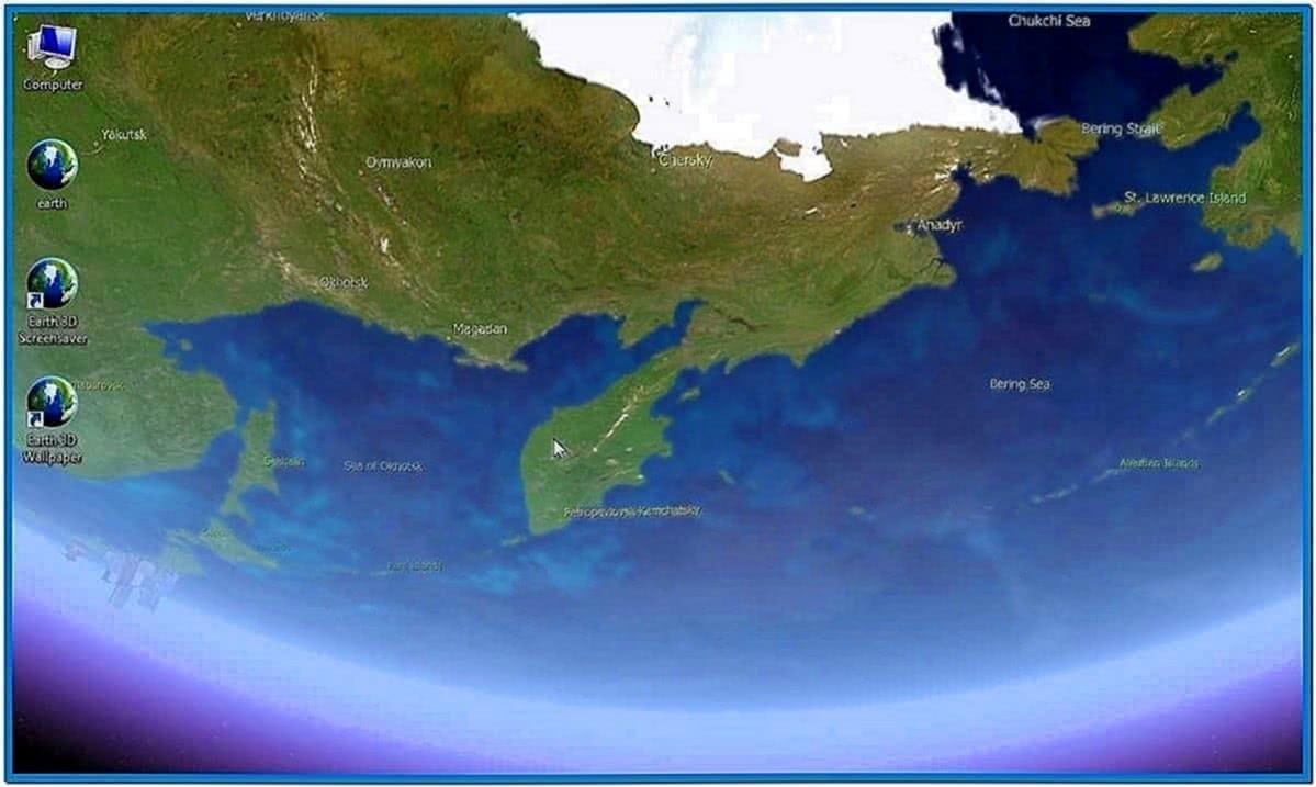 Earth 3D Screensaver 2.0 Code