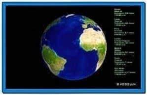 Earth 3D Screensaver 2.0