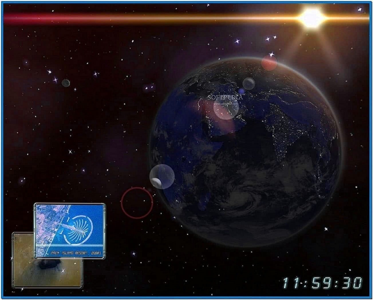 Earth 3D Space Screensaver 1.0.3