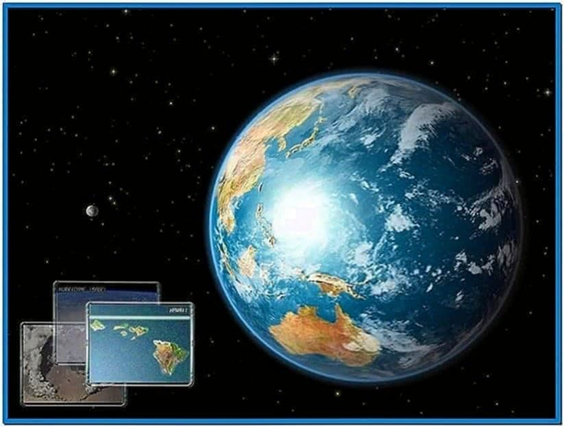 Earth 3D Space Survey Screensaver Code