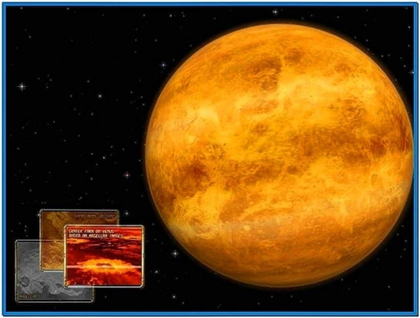 Earth 3D Space Survey Screensaver Mac OS X