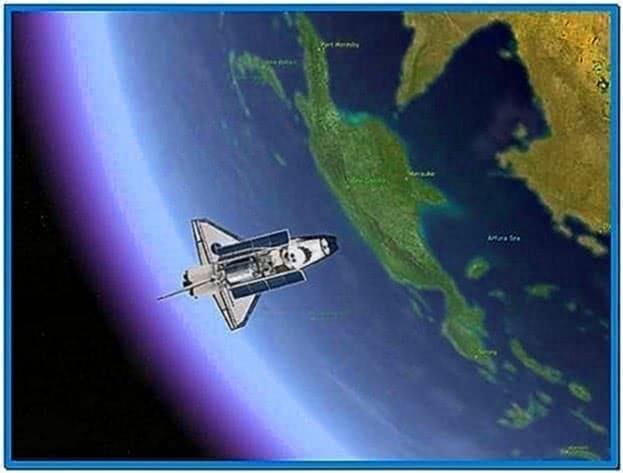 Earth 3D Space Tour Screensaver 1.0