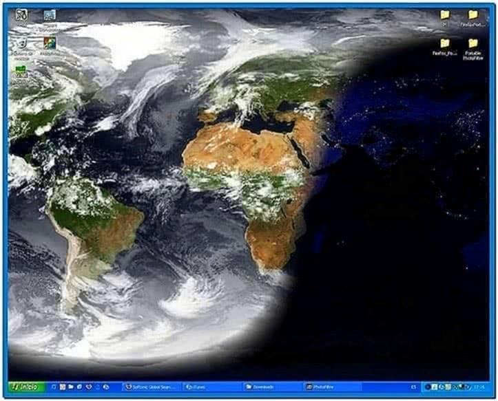 Earth Clock Screensaver Softonic