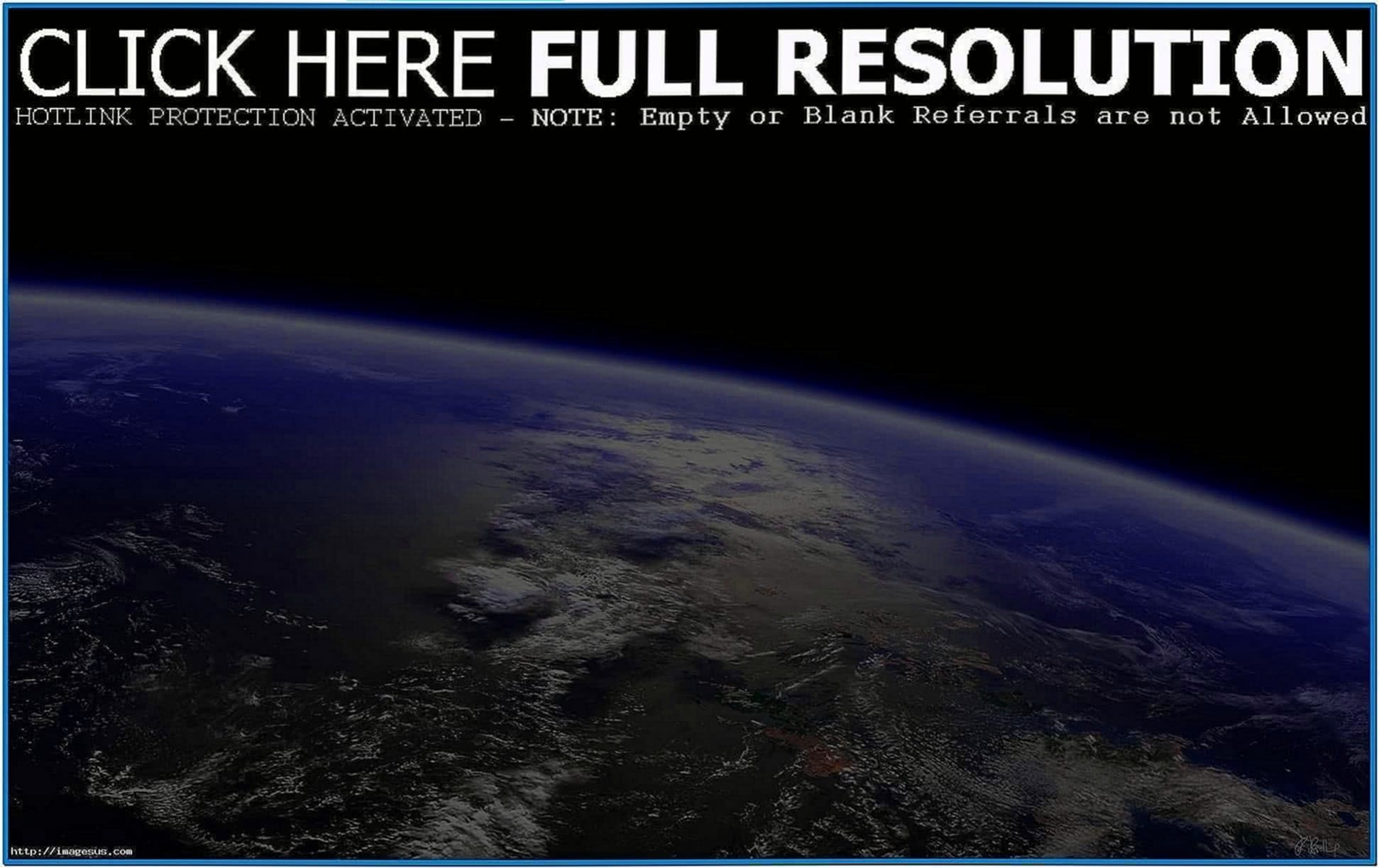 Earth From Space Screensaver Mac