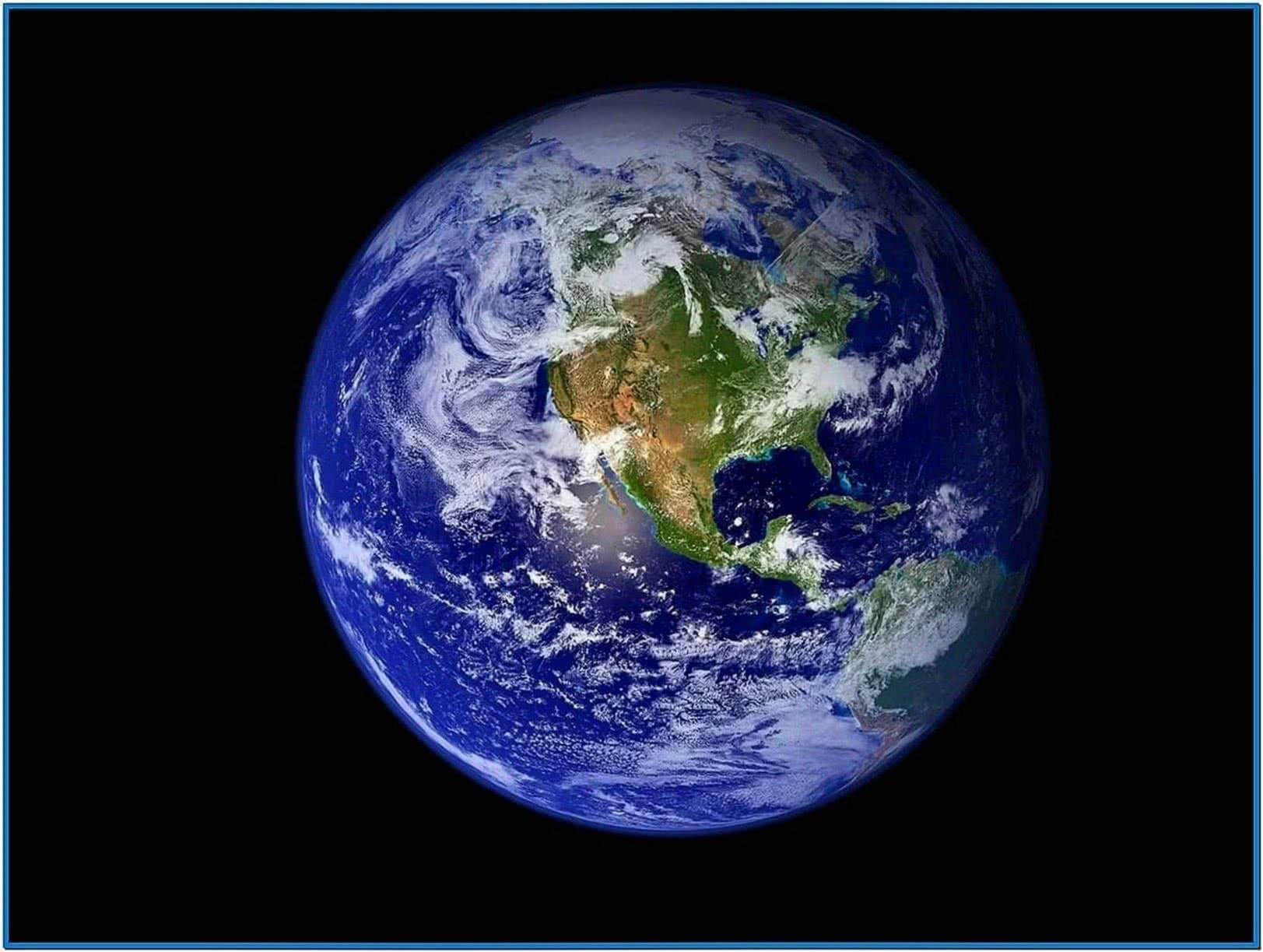 Earth Screensaver HD