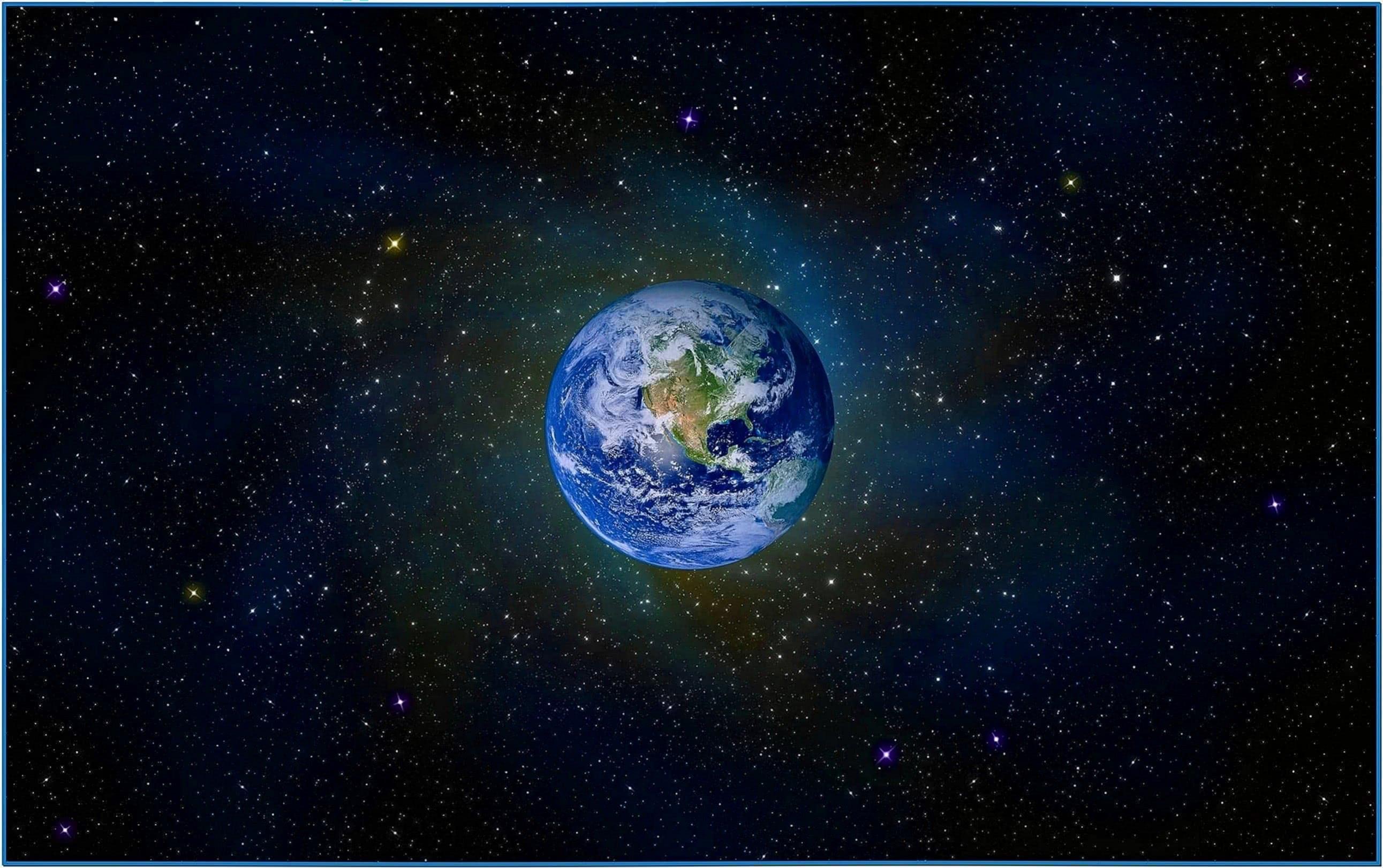 Earth screensaver hd Mac