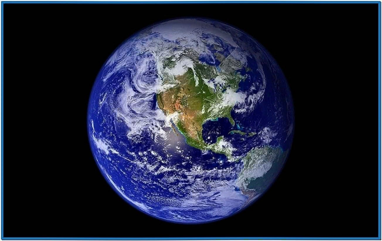 Earth Screensaver HD Mac