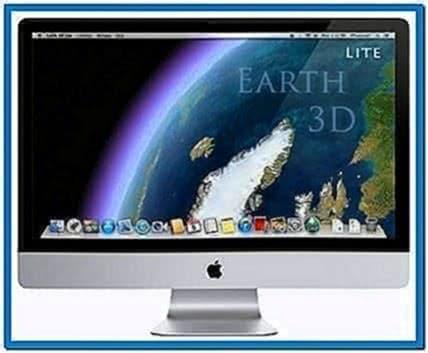 Earth Screensaver Mac OS X