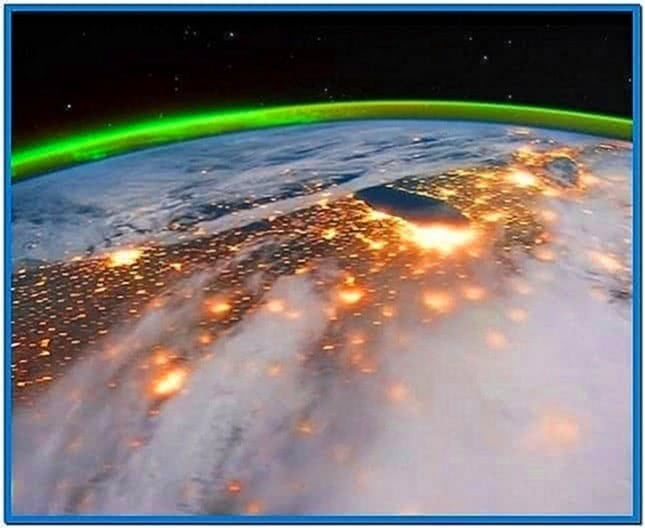 Earth Time Lapse Screensaver