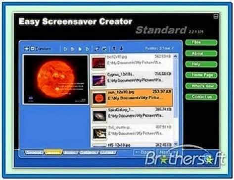 Easy Screensaver Creator