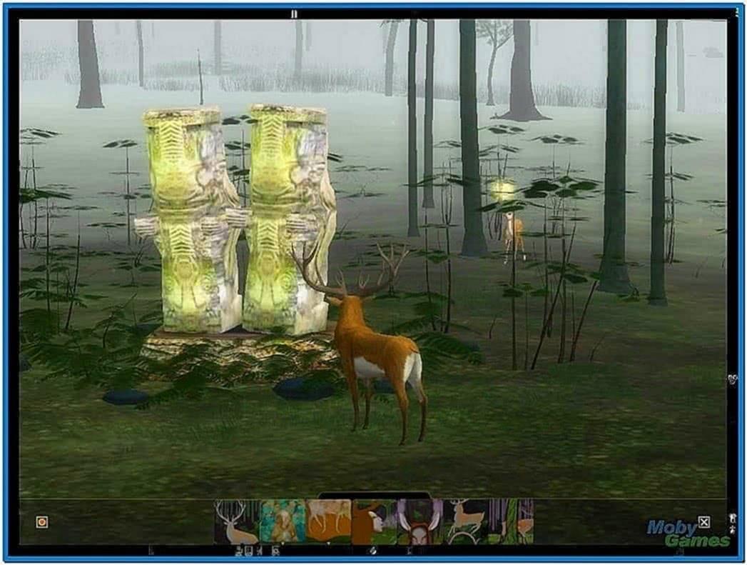 Endless Forest Windows 7 Screensaver