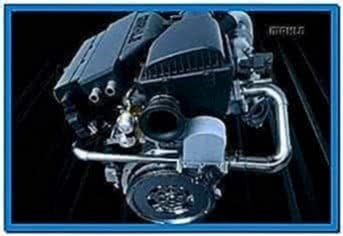 Engine Assembly Screensaver Software