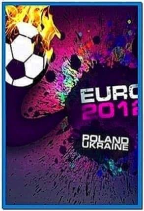 Euro 2020 Schedule Screensaver