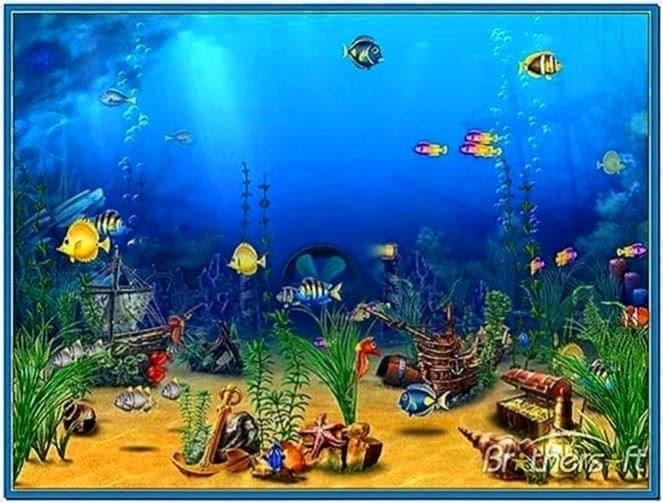 Exotic Aquarium 3D Screensaver 1.0
