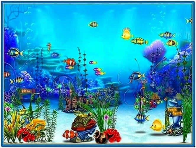 Exotic Aquarium 3D Screensaver Full