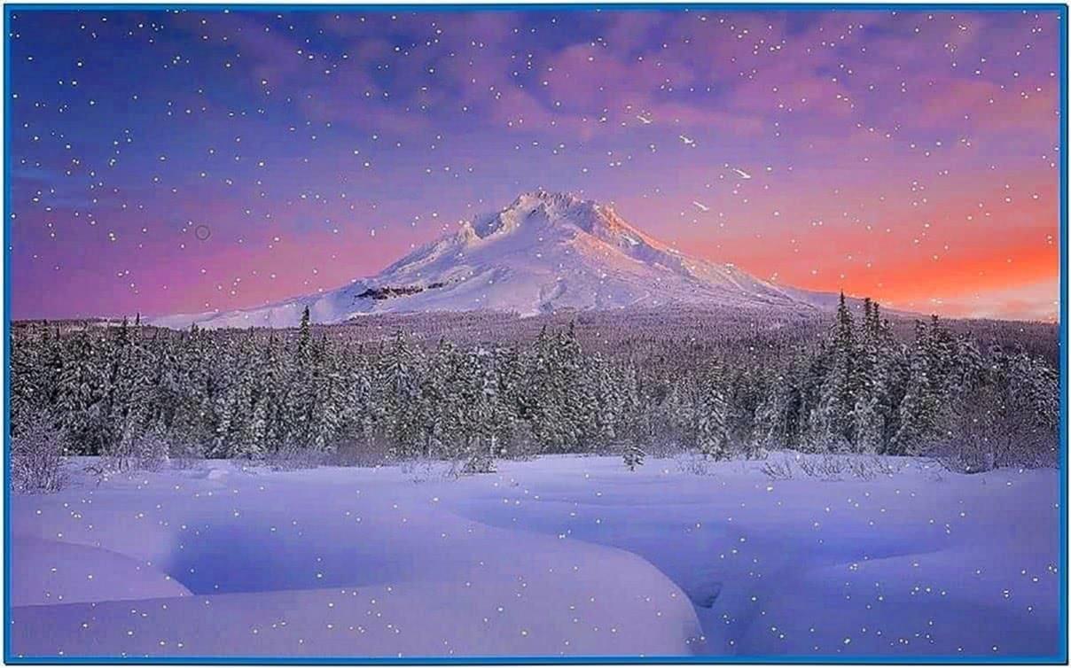 Falling Snow Screensaver Vista