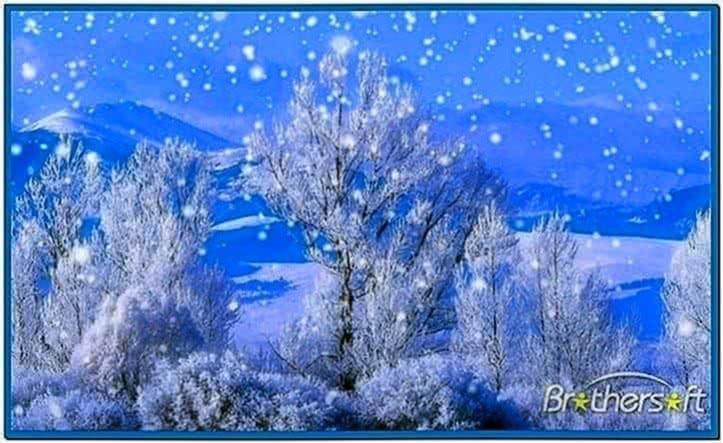 Falling Snow Screensaver Windows 7