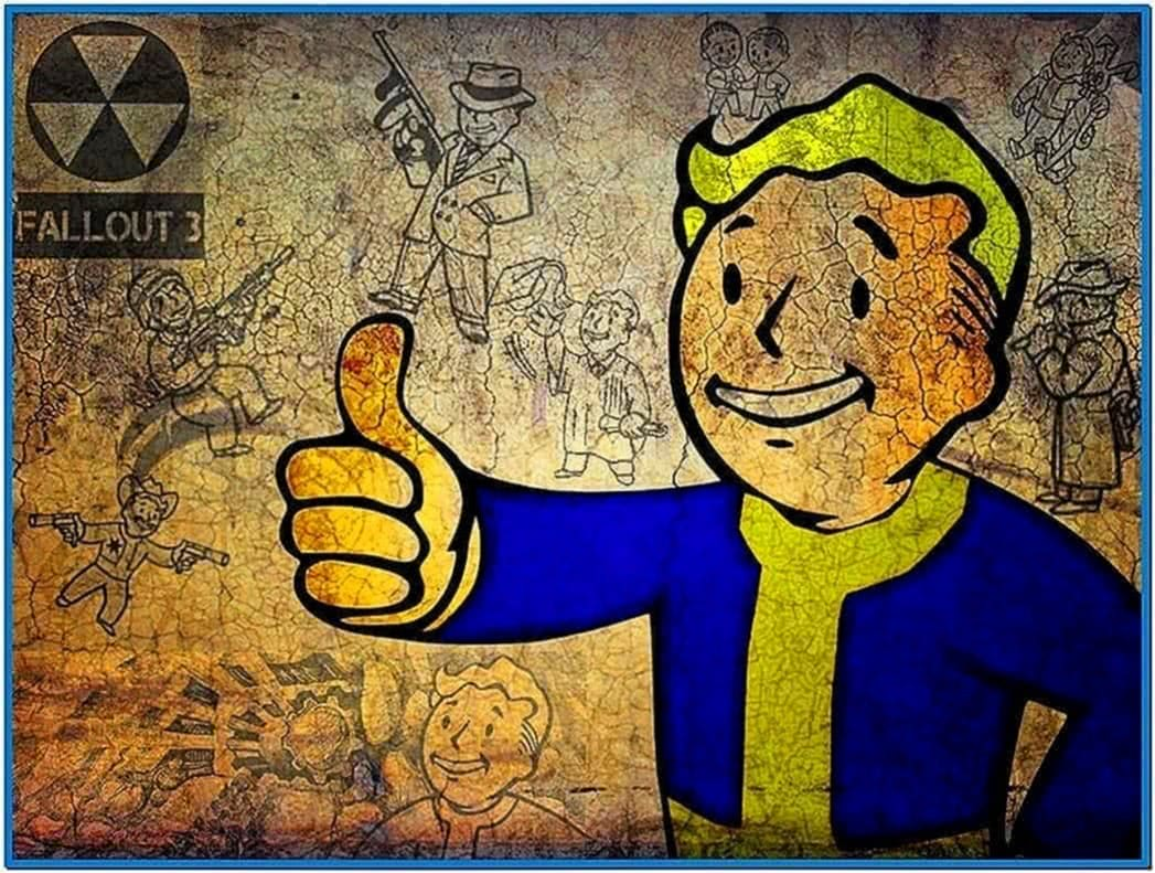 Fallout 2 Pip Boy Screensaver