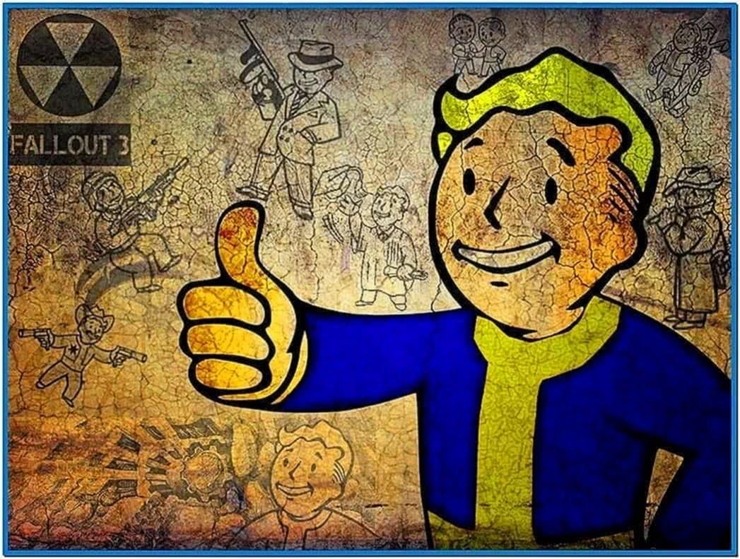 Fallout 2 pip boy screensaver - Download free