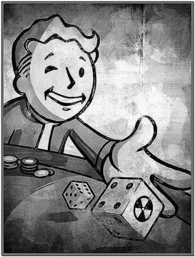 Fallout Kindle Screensaver