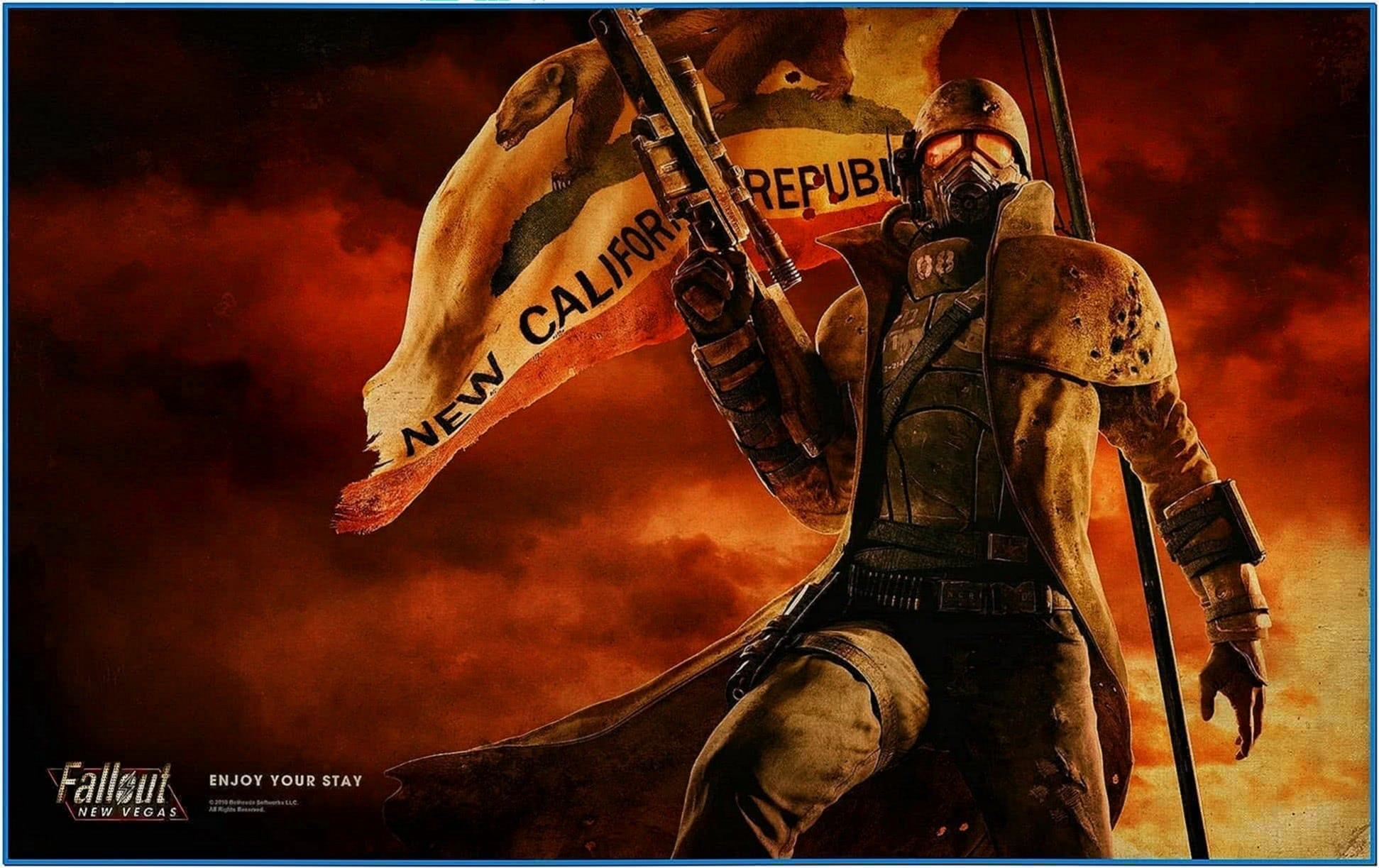 Fallout New Vegas Screensaver