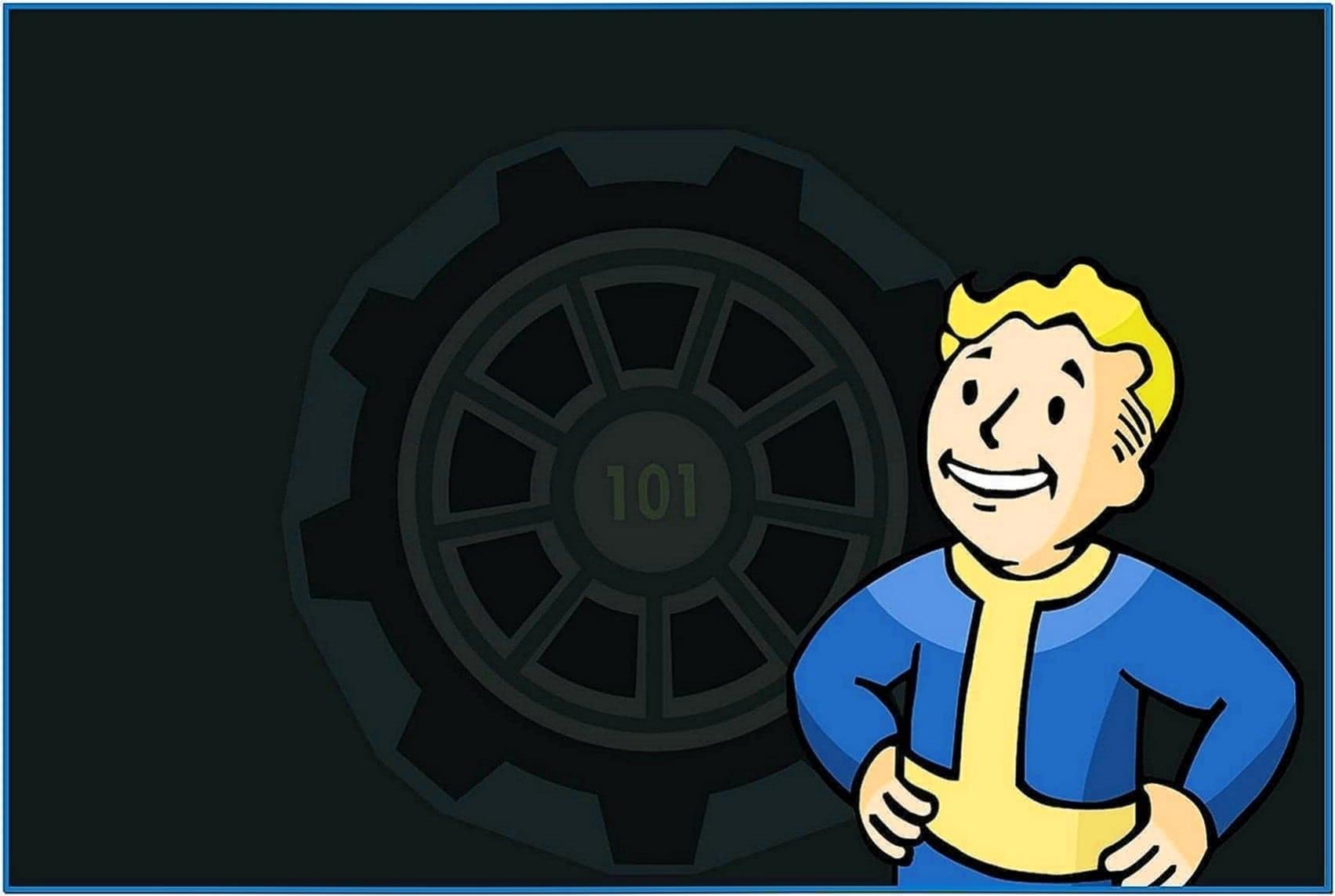 Fallout pip boy screensaver