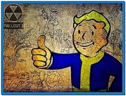 Fallout Pip Boy Screensaver