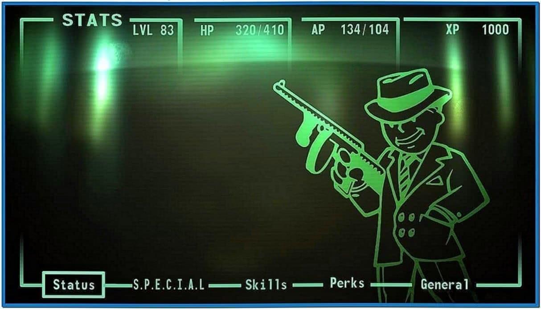 Fallout pipboy screensaver