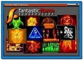 Fantastic Flame Screensaver Windows 7