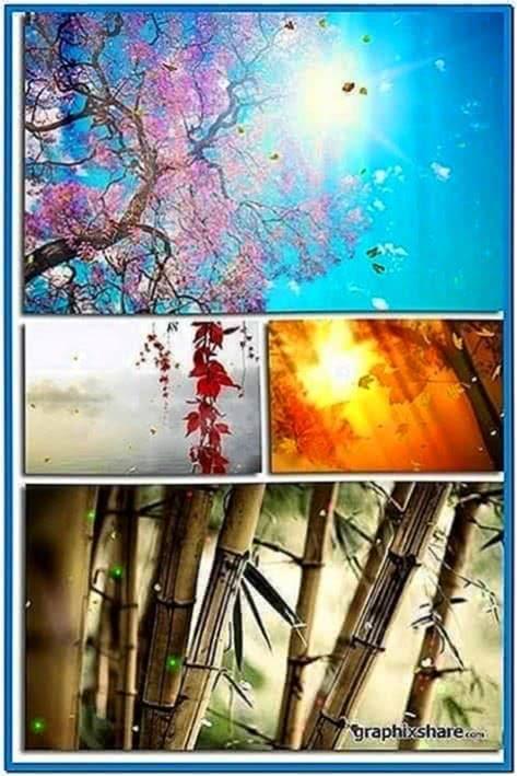 Fantastic Nature Screensaver Animated Wallpaper