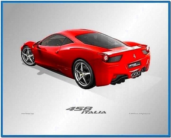 Ferrari 458 Italia Screensaver Mac