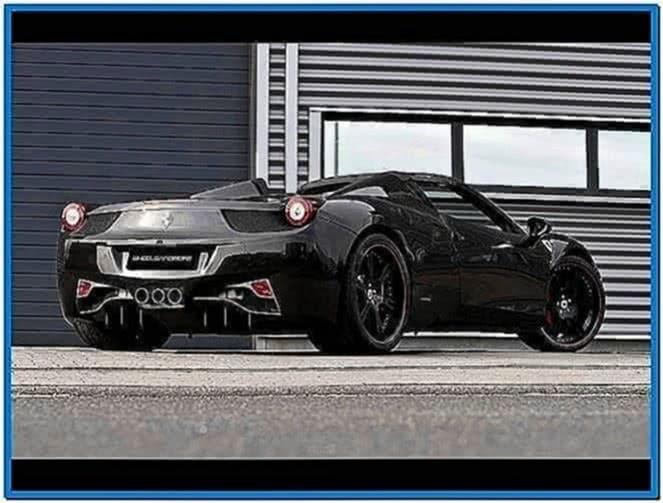 Ferrari 458 italia spider screensaver