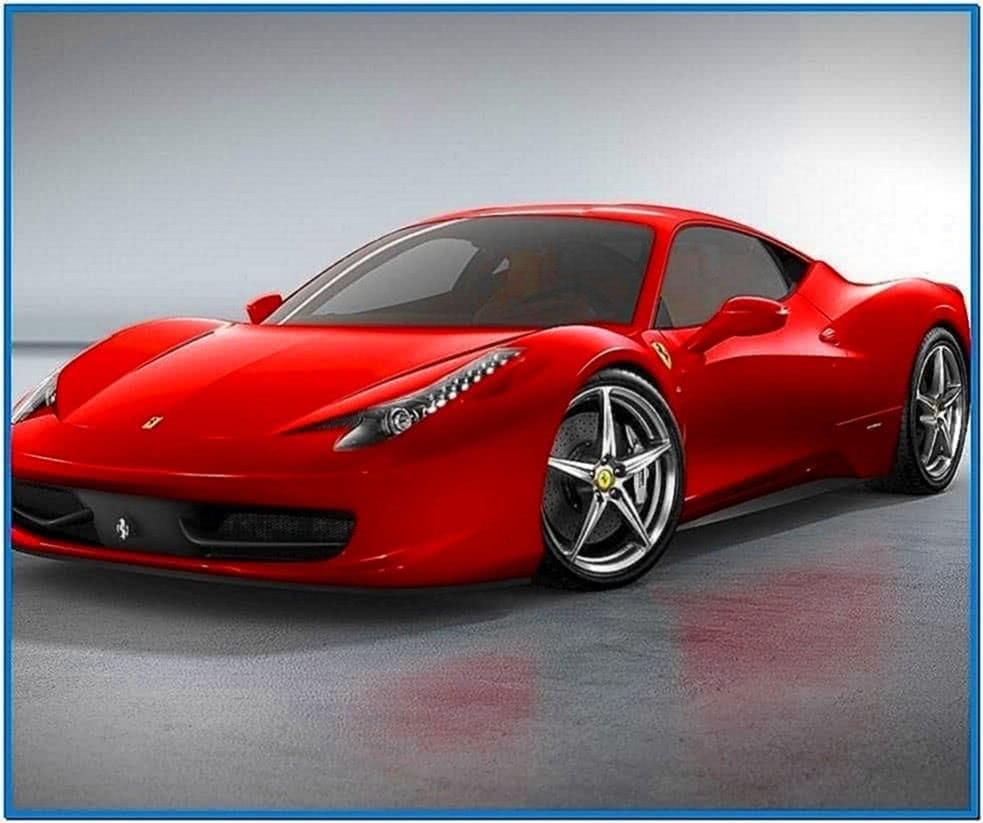 Ferrari 458 Screensaver