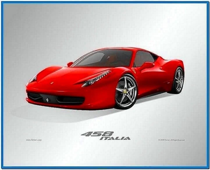 Ferrari 458 Screensaver Mac