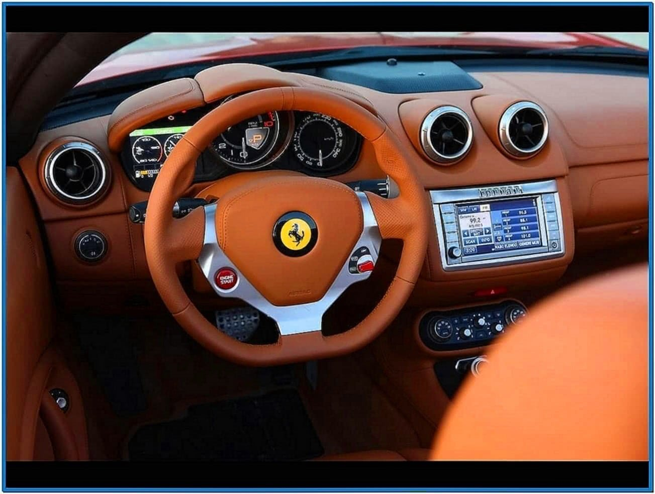Ferrari California Screensaver Mac