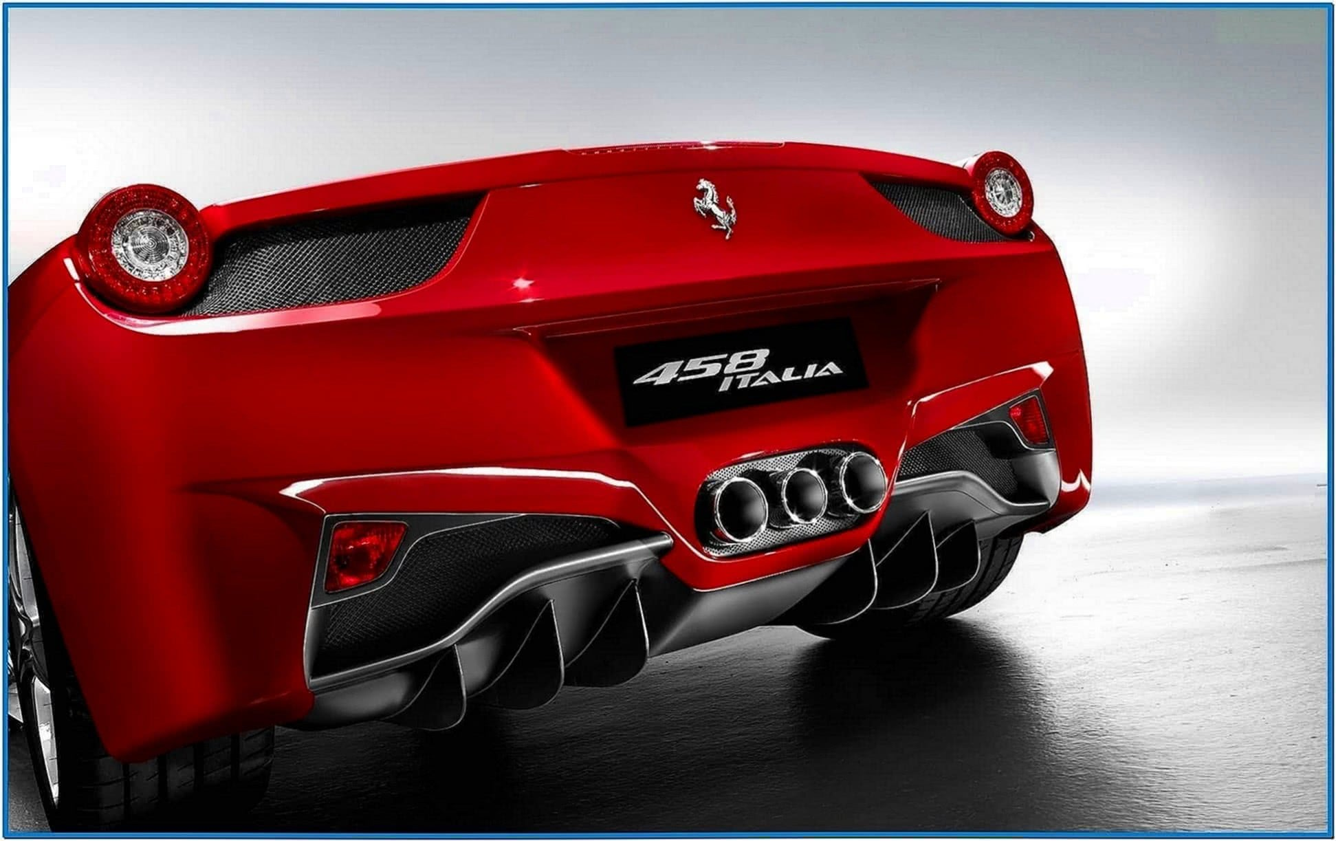 Ferrari Italia Screensaver Mac