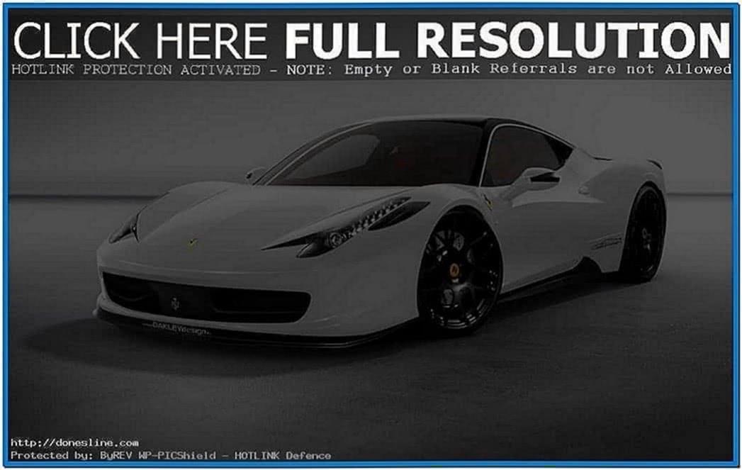 Ferrari Screensaver Mac OS X