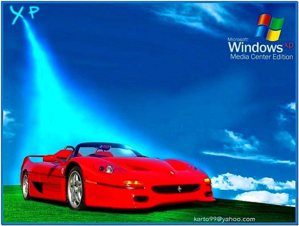 Ferrari screensaver Windows xp
